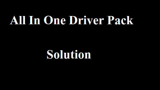 Android All In One Driver Pack 2019 Raza Technical Solution