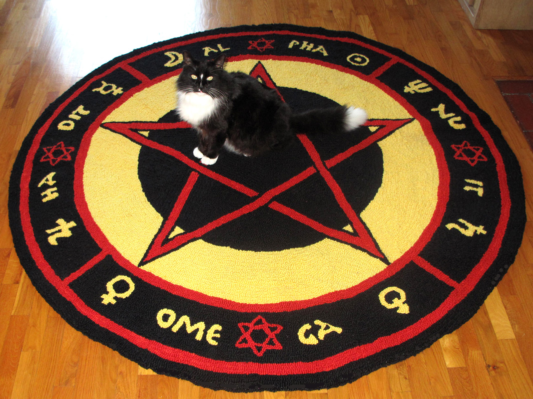 Pentacle Rug Rugs Ideas