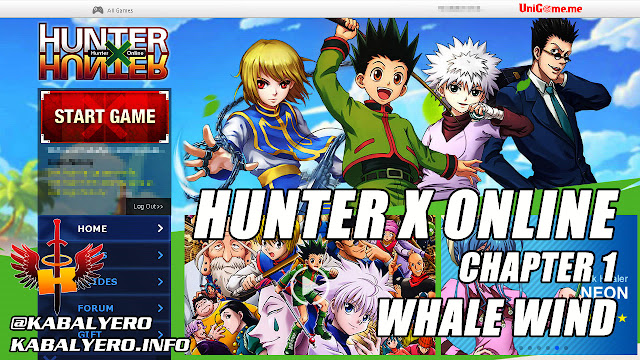 Hunter X Online Gameplay, Chapter 1 Whale Wind
