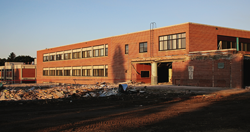 MHHS Demolition Medicine Hat High School