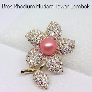 Harga Bros Rhodium Mutiara Lombok Air Tawar