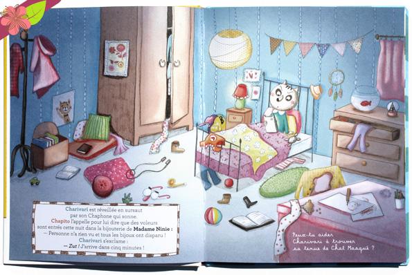 Les chats masqués : les bijoux volés de Nancy Guilbert et Séverine Duchesne - éditions frimoüsse
