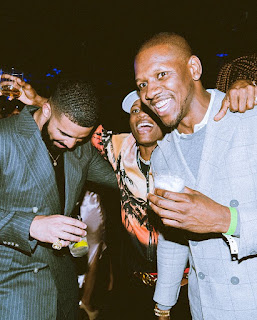 Wizkid hangs out with Drake