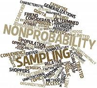 Nonprobability sampling adalah