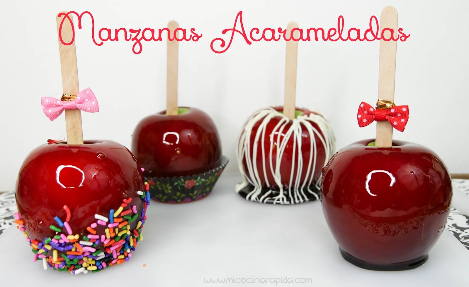 Manzanas Acarameladas - Mi Cocina Rápida