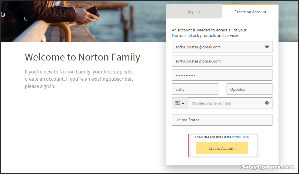 Free Norton Family for 6 months