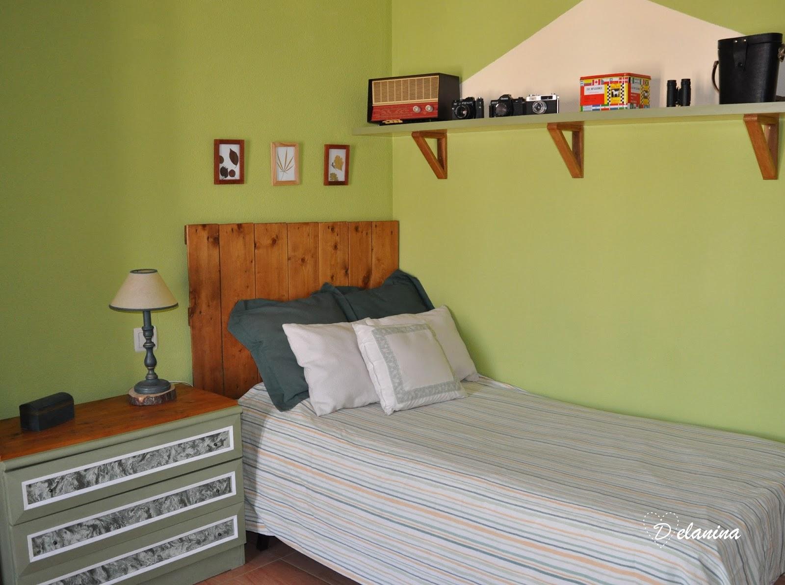 Renovar un dormitorio juvenil con pintura delanina - Pintura dormitorio juvenil ...