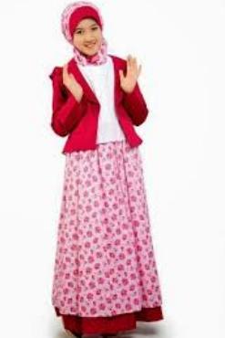 model baju batik untuk anak perempuan