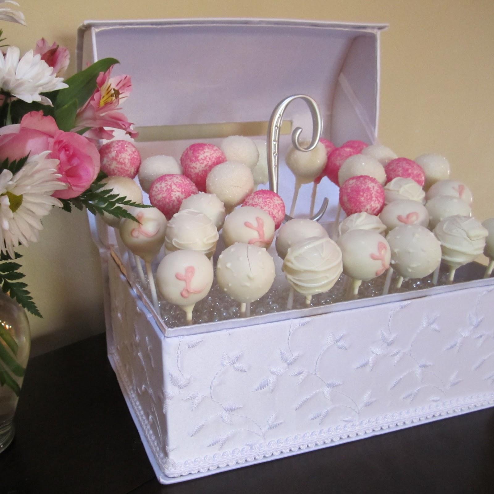 Wedding Cake Pops Milwaukee