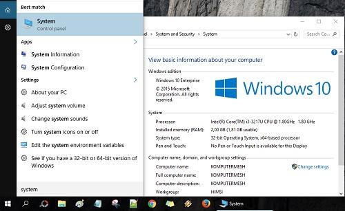 2 Cara Melihat Spesifikasi Laptop Windows 10 - Cektutorial.com