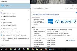 2 Cara Melihat Spesifikasi Laptop Windows 10