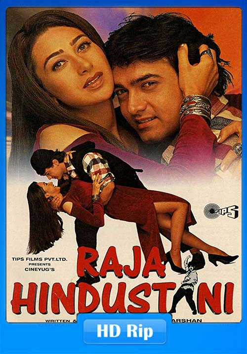 Raja Hindustani 1996 Hindi 720p HDRip x264 | 480p 300MB | 100MB HEVC