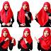 Tips Praktis Kreasi Jilbab Segi Empat