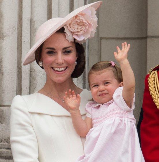 Catherine, Duchess of Cambridge, Prince William, Prince George, Princess Charlotte