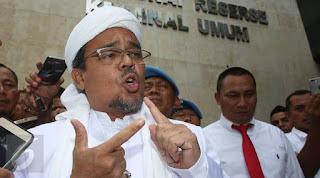 Polri Belum Terbitkan Blue Notice Interpol untuk Rizieq Shihab