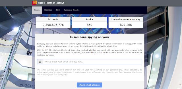Identity Leak Checker per controllo e-mail