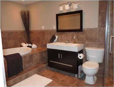 Brown Marble Bathroom Ideas