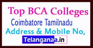 Top BCA Colleges in Coimbatore Tamilnadu