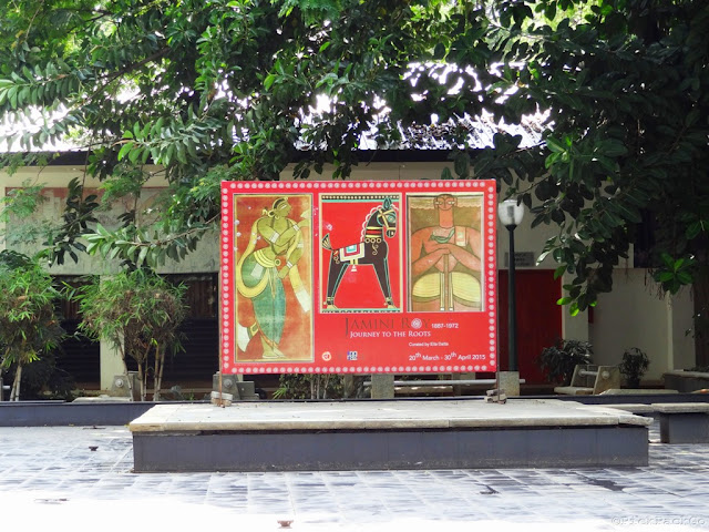 Art exhibition posters at National gallery of modern arts - Bangalore