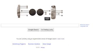 Google's Virtual Guitar Doodle gets home on Google's Logo store