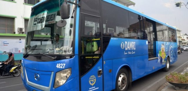 Tarif Bus Damri Jatinangor Dipatiukur Bandung Terbaru