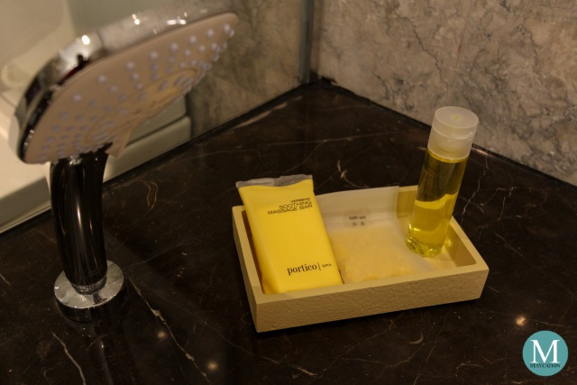 Hyatt City of Dreams Manila Portico Spa Toiletries
