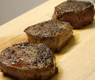 peppered steaks recipe