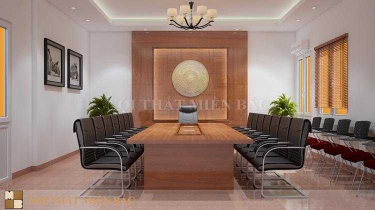 Tư vấn thiết kế nội thất phòng họp nhỏ tiện nghi