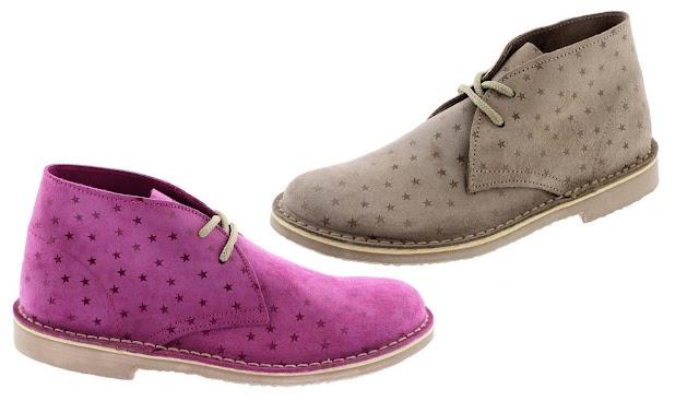 zapatos pisacacas con estrellas