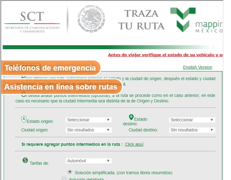 Mappir Capufe Traza tu ruta en Carreteras de Mexico 2021 2022