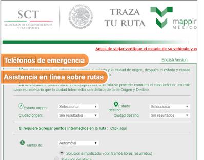 Mappir Capufe Traza tu ruta en Carreteras de Mexico 2020 2021 2022