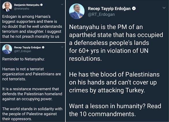 "Twit War Internasional Kelas Kakap, Erdogan ""KO"" Netanyahu"