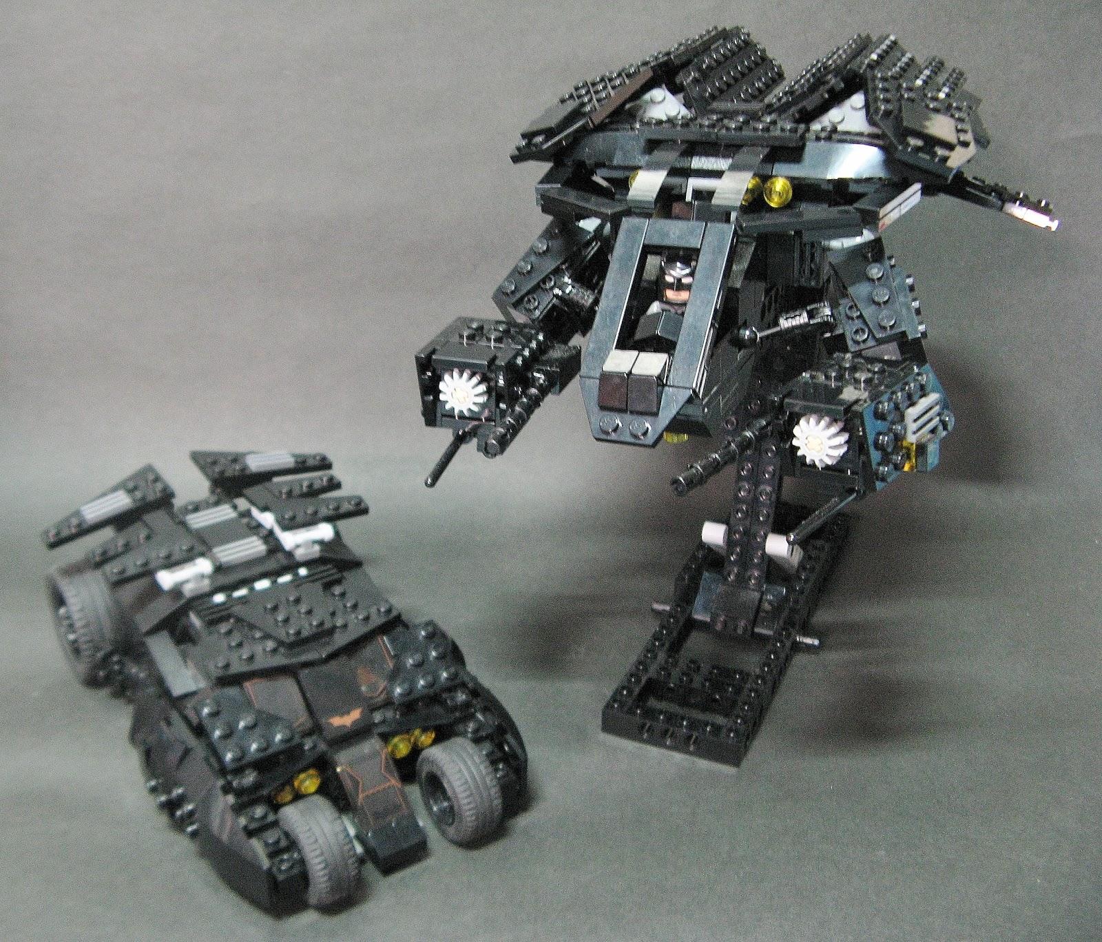 LEGO Vehicle Show(By Bloks)積木機具展 : BATWING- THE BAT (Batman: The Dark Knight Rises)蝙蝠戰機-蝙蝠(蝙蝠俠-夜神起義)RENEW