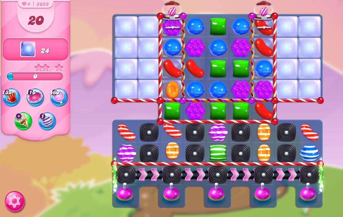 Candy Crush Saga level 5622