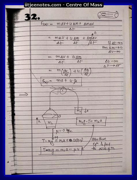 Center Of Mass Notes7