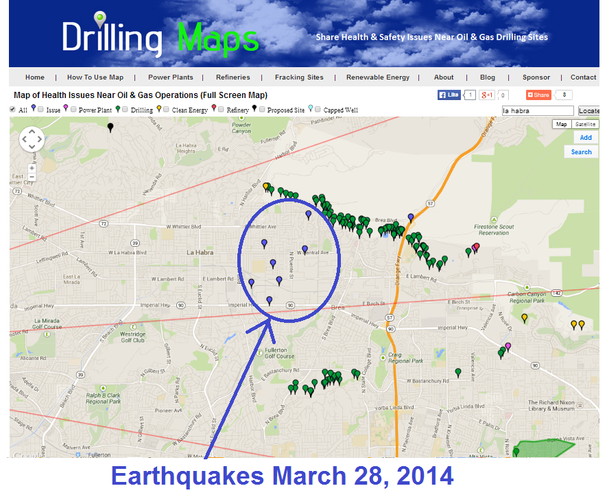fracking and earthquakes