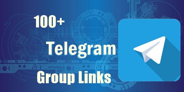 100+ Telegram Group Links