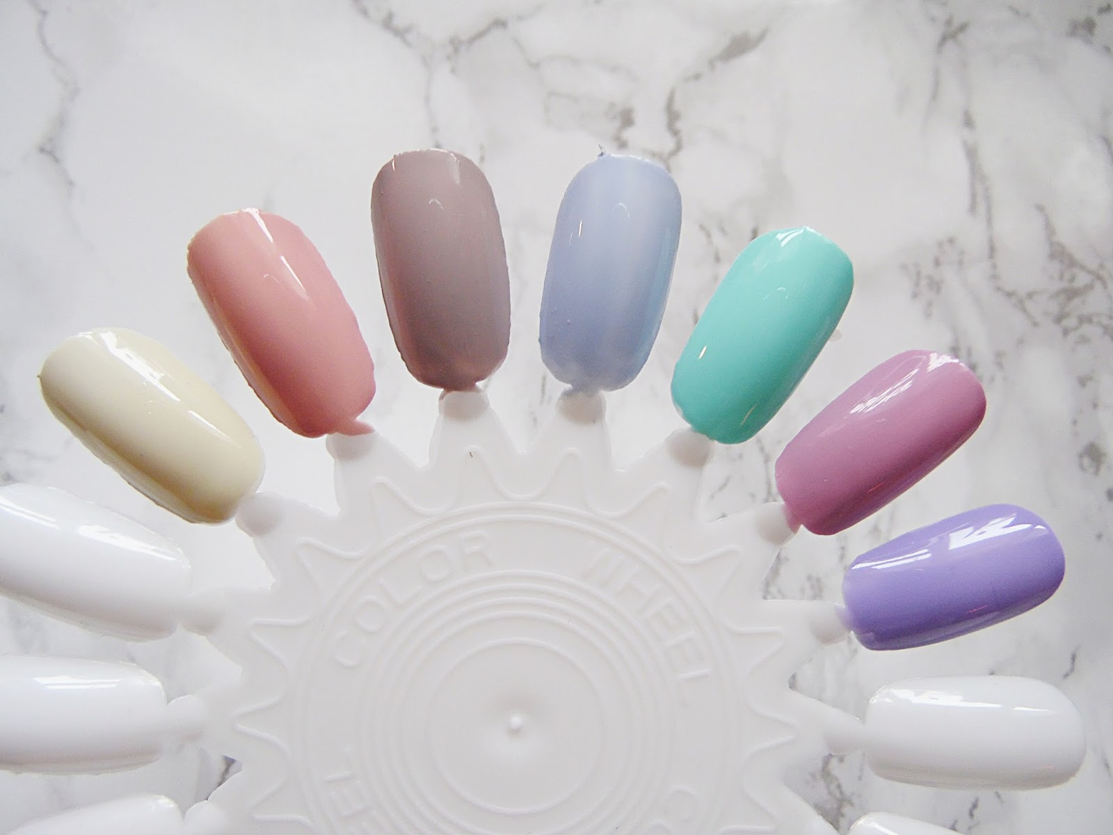 Spring Barry M Nail Polish Favourites
