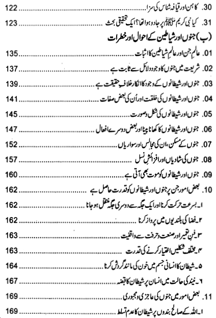 Index page 3 of Jadu ki Haqeeqat