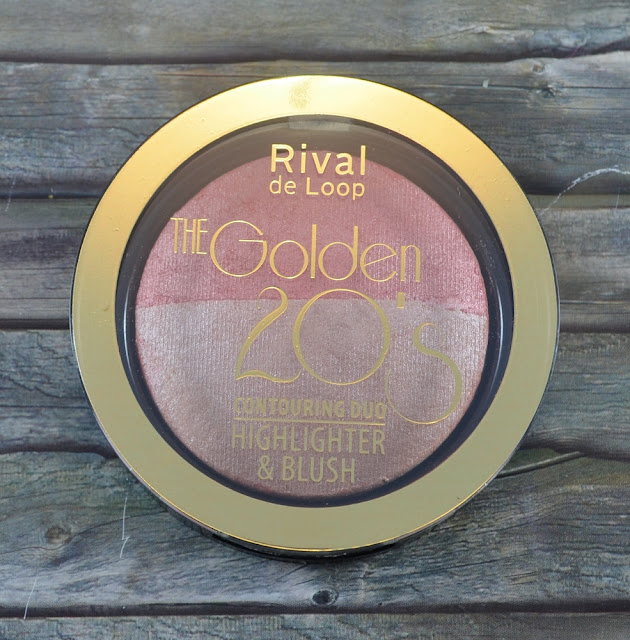 Rival de Loop The Golden 20's LE Contouring Duo Highlighter und Blush