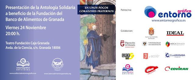 En unos pocos corazones fraternos, antología solidaria,Francisco Acuyo