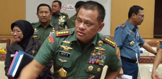 Panglima TNI Jenderal Gatot Nurmantyo ditolak masuk AS