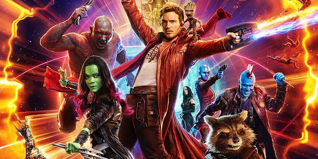 volumul 2 din gardienii galaxiei la IMAX Cinema City