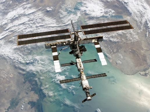 us shuttle joins russian space station - photo #16