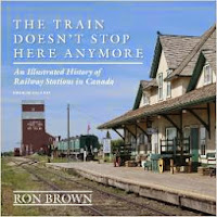 image The Train Doesn't Stop Here Anymore: An Illustrated History of Railway Stations in Canada on Amazon Canada.