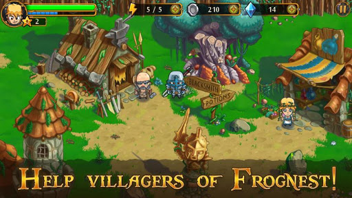 Game: League Heroes Free Shoping APK