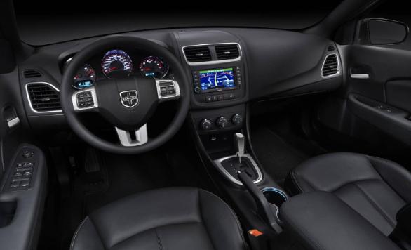 2020 Dodge Avenger interior
