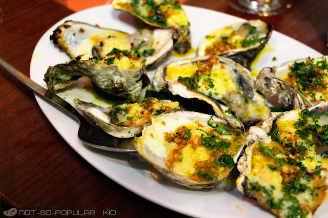 Delicious Baked Oyster of Marina Restaurant
