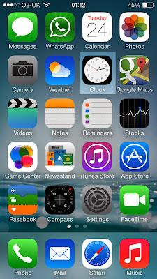 IOS 7 Real Clock Moving