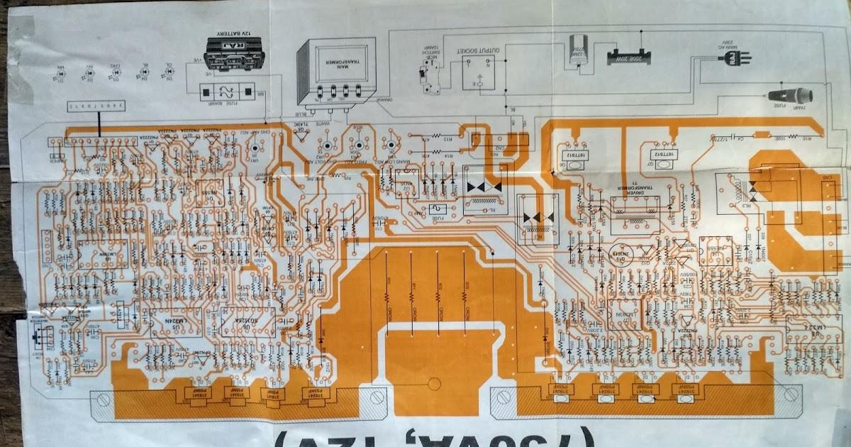 Inverter Inverter Circuit Schematic Diagram 1000w Inverter Circuit On